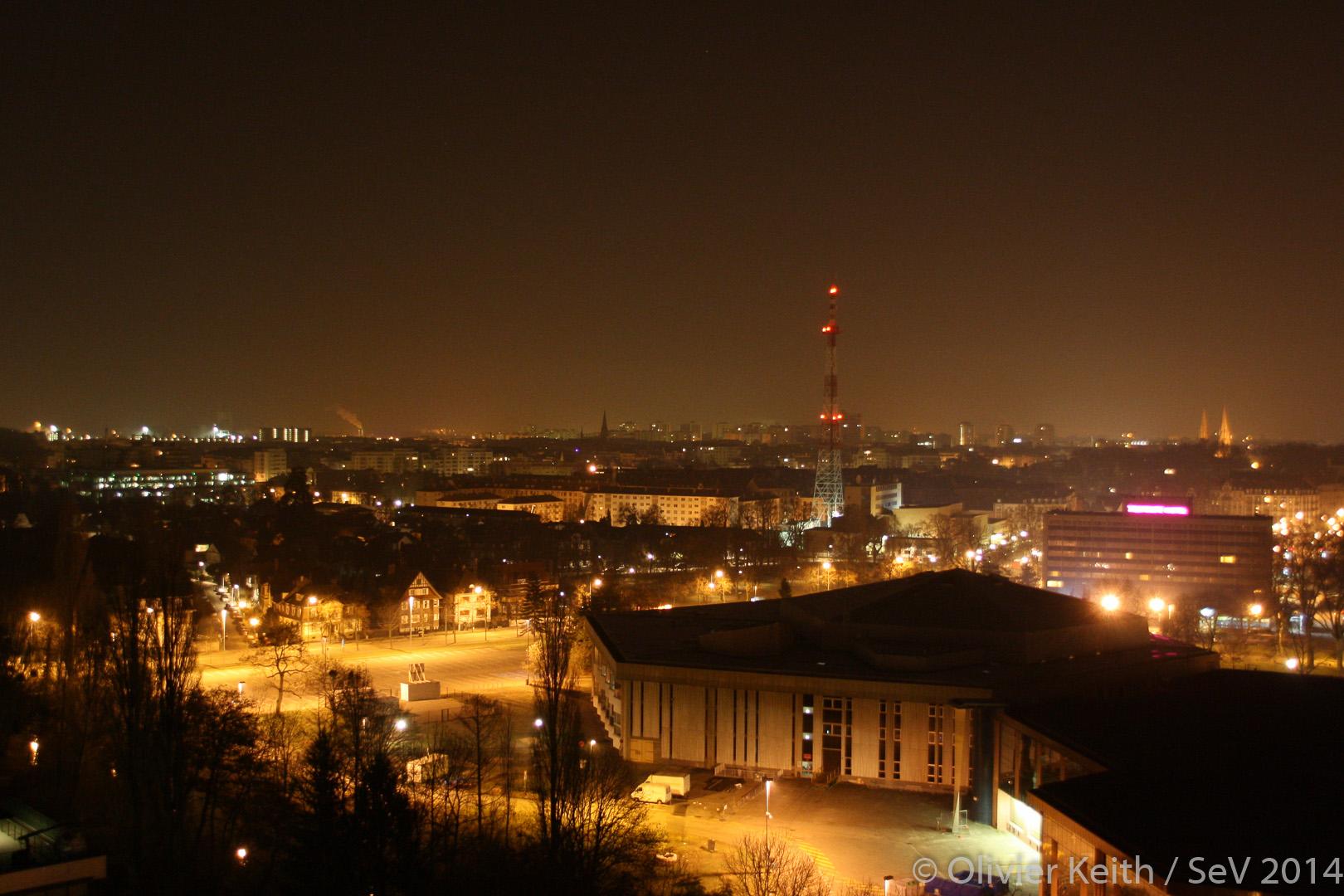 Photo de Strasbourg de nuit